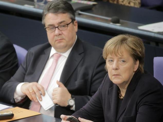 urn-newsml-dpa-com-20090101-160226-99-998276_large_4_3_Bundeskanzlerin_Merkel_vergangene_Woche_neben_SPD-Chef_Gabriel_auf_der_Regierungsbank_im_Bundest_pt_8